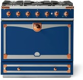 Williams-Sonoma Williams Sonoma Cornue Fe Albertine Dual-Fuel Range Stove, Royal Blue