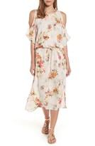 Velvet by Graham & Spencer Women's Vintage Floral Midi Dress