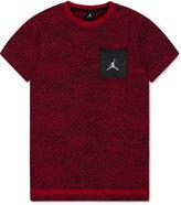 Jordan Boys' Splatter-Print Pocket T-Shirt