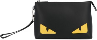Fendi Monster Eyes Medium Clutch Bag