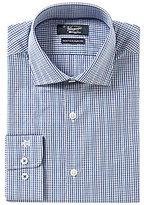 Original Penguin Heritage Slim-Fit Spread-Collar Plaid Dress Shirt