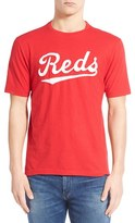 Red Jacket Men's 'Cincinnati Reds - Twofold' Crewneck T-Shirt