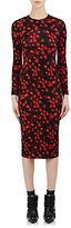 Givenchy Women's Tech-Jersey Dress-BLACK, RED, NO COLOR