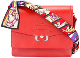 Paula Cademartori Twiggy shoulder bag - women - Silk/Calf Leather - One Size