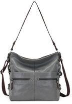 The Sak Sanibel Leather Bucket Hobo Bag