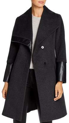 Via Spiga Oversized Collar Coat