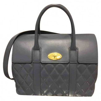 Mulberry Bayswater tote Blue Leather Handbags