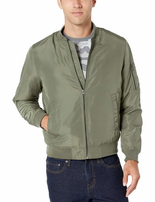 Amazon Essentials Men's Midweight Bomber Jacket