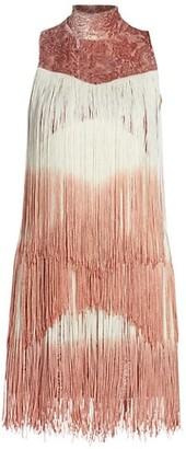 Alexis Mayla Fringe Mini Dress