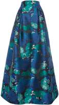 Eliza J Floral jacquard ballgown skirt