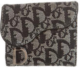 Christian Dior Diorissimo Saddle Wallet