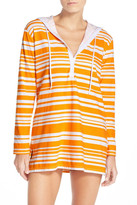 Tommy Bahama Sportif Stripe Cover-Up Hoodie
