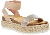 Steve Madden Kyleigh Espadrille Sandal (Rhinestone) Women's Shoes