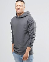 Jack and Jones Hoodie with Layered Arm Detail