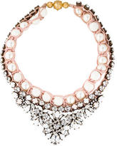 Shourouk Theresa White Necklace