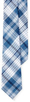 Lauren Ralph Lauren Plaid Cotton Tie