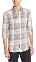 Lucky Brand Men's Twill Mason Work Wear Shirt