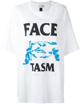 Facetasm logo print T-shirt - women - Cotton - One Size