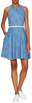 Paul & Joe Sister Sybille Cotton Fit And Flare Dress