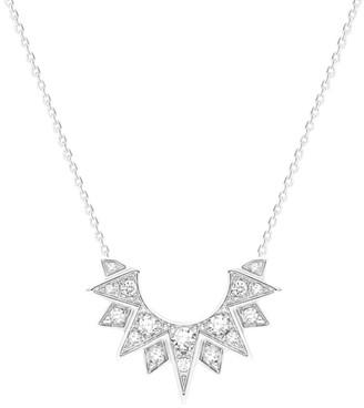 Piaget Sunlight 18K White Gold & Diamond Pendant Necklace