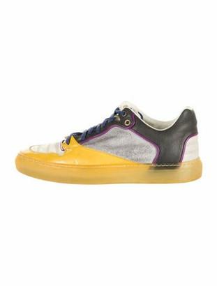 Balenciaga Leather Sneakers Grey