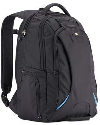 "Case Logic 15.6"" Checkpoint Friendly Backpack, 2.76"" x 13.39"" x 19.69"", Polyester, Black -CLG3203772"