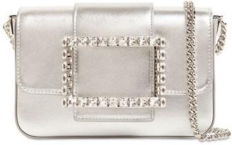 Roger Vivier Micro Tres Vivier Leather Shoulder Bag