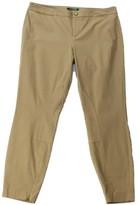 Lauren Ralph Lauren Womens Slim Fit Twill Casual Pants