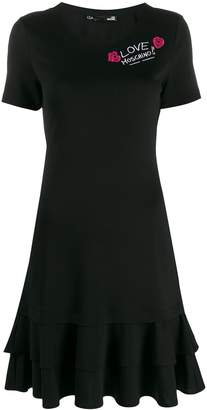 Love Moschino tiered T-shirt dress
