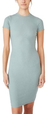 Cotton On Essential Short Sleeve Bodycon Midi Dress