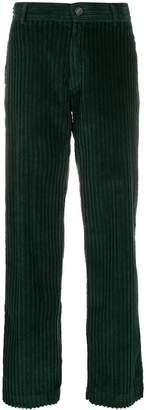 Cotélac corduroy straight-leg trousers
