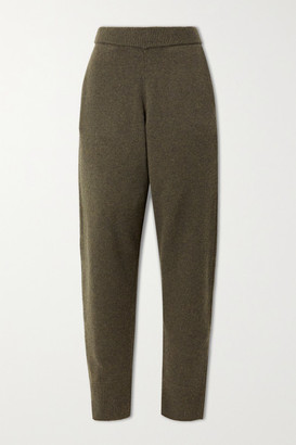Joseph Wool Track Pants - Army green