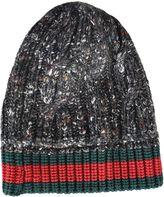 Gucci Web Stripe Beanie