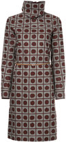Marni patterned turtleneck dress