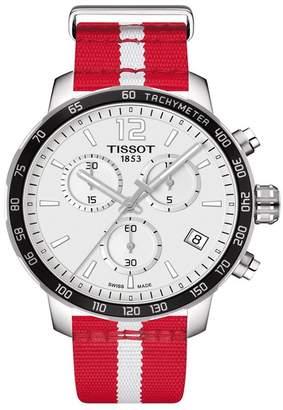 Tissot Men's Quickster Chronograph NBA Atlanta Hawks Watch, 42mm