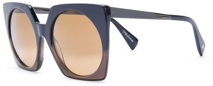 Yohji Yamamoto oversized sunglasses