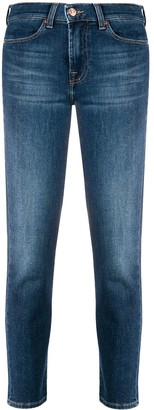 7 For All Mankind Slim-Fit Cropped Jeans
