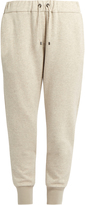 Brunello Cucinelli Monili-embellished cashmere-blend trousers