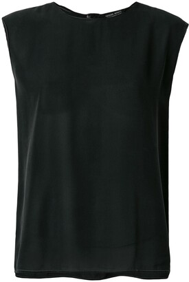 Giorgio Armani Pre Owned Round Neck Top
