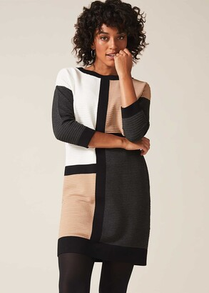 Phase Eight Casle Colourblock Dress