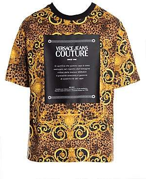Versace Men's Leo Baroque Print T-Shirt