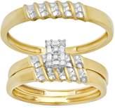 DazzlingRock Collection 2.25 Carat (ctw) 14k Rose Gold Champagne & White Round Diamond Ladies Flower Stud Earrings