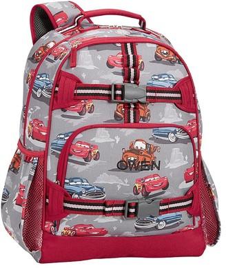 Pottery Barn Kids Mackenzie Gray Red Disney and Pixar Cars Backpack