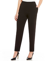 Vince Camuto Slim Leg Pull-On Textured Pant