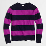J.Crew Factory Wide-stripe sweater