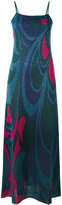 Circus Hotel geometric pattern metallic dress - women - Viscose/Polyester - 42