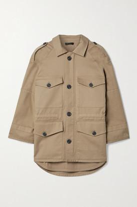 ATM Anthony Thomas Melillo Cotton-blend Twill Jacket - Camel