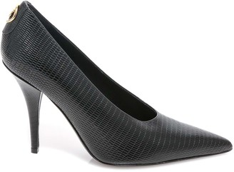 Burberry Stud Detail Pointed-Toe Pumps