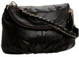 MAXX NEW YORK Bridget Chain Zip Flap Shoulder Bag