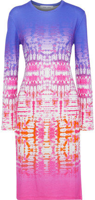 Prabal Gurung Tie-dyed Stretch-jersey Dress